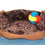Panier chocolat avec la balle tricolore